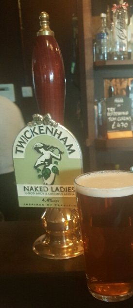 naked ladies beer handpump